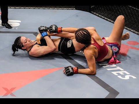 XFCi 9: Julia Berezikova X Juliana Werner | Fight Highlights (видео)