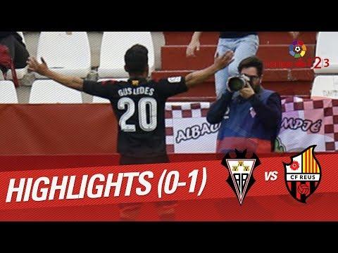Resumen de Albacete Balompié vs CF Reus (0-1)