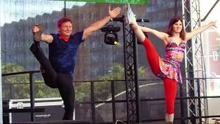 Comedy-Akrobatik und Comedy-Jonglage