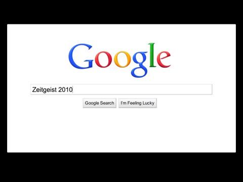 2010 - See how the World Searched with Google's 2010 Zeitgeist: http://google.com/zeitgeist2010 Re-live top events and moments from 2010 from around the globe throu...