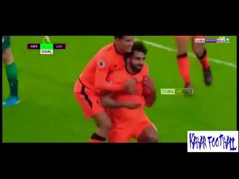 Arsenal vs Liverpool 3 - 3 Resumen Highlights Goals Premier League 22-12-2017
