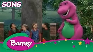 """Adding Up the Outdoors. Barney and his friends present """"The Rain and The Rainbow Song"""", a fun song that teaches children the seven colors of the rainbow and the importance of rain. So grab your umbrellas -- it's time to play in the great outdoors...even if it's raining!WATCH A NEW BARNEY VIDEO EVERY THURSDAY RIGHT HERE ON THE OFFICIAL YOUTUBE CHANNEL.Welcome to Barney and Friends' home on YouTube, where you can find the video clips and full episodes!In the world of Barney, sharing and caring are key, imaginations flourish and there is always a dance at every turn! Join everyone's favorite purple dinosaur, as he and his dino-pals, Baby Bop, BJ and Riff, help give children the range of skills they need to grow using tons of music, fun and laughs to guide the way!For more fun with Barney and Friends, visit the Official Barney and Friends YouTube Channel at http://youtube.com/barneyandfriends"""