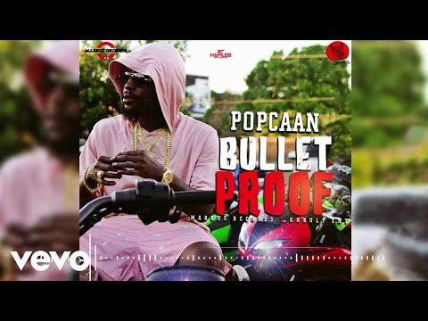Video Popcaan - Bullet Proof download in MP3, 3GP, MP4, WEBM, AVI, FLV January 2017