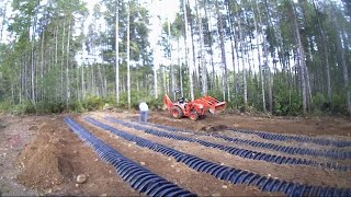 Install your own pressure drain field #1 Daniel WoodellHow to install your own septic system!During construction of my brother's new house we decided to install his septic system.  This video shows the process it takes and how to go about doing it yourself to save a lot of money.  It shows you what you need and the time it takes.  This is a pump to pressure distribution system this series of videos will shows how to install that type of system yourself.