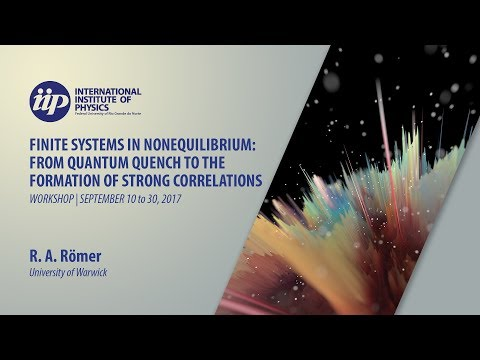 Non-equilibrium transport and numerical modelling of the integer quantum Hall effect - R. A. Römer