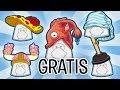 5 Sombreros Gratis en Club Penguin (Semana de los
