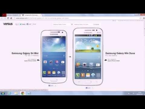 Samsung Galaxy S4 Mini e Samsung Galaxy Win Duos – Analise e especificações – PT-BR – Brasil