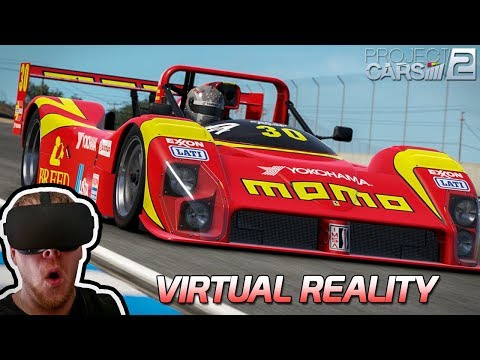 Virtual Reality in Project CARS 2 [HD] [GER] Ferrari 333 SP @ Laguna Seca