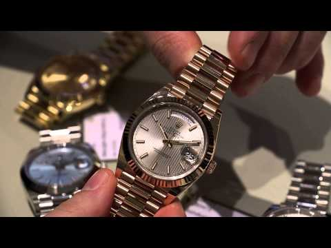 Rolex Day-Date 40 Watches For 2015 Hands-On | aBlogtoWatch