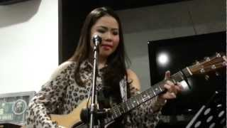 Sabrina Orial performed live during her