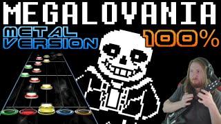 Video Megalovania Metal Version 100% FC (Guitar Hero Custom / Music by RichaadEB) - Undertale MP3, 3GP, MP4, WEBM, AVI, FLV Maret 2018