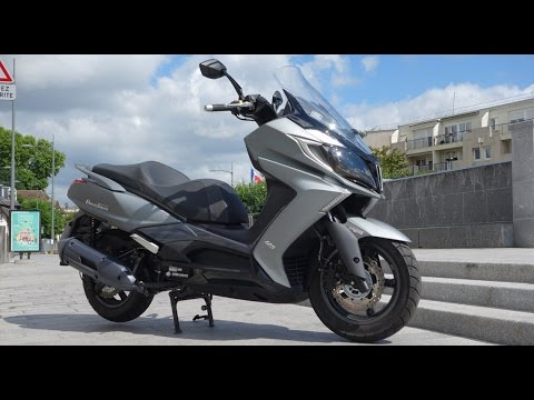 Scooter GT 125 2015 - Kymco DownTown 125i ABS : Essai AutoMoto