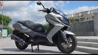 9. Scooter GT 125 2015 - Kymco DownTown 125i ABS : Essai AutoMoto