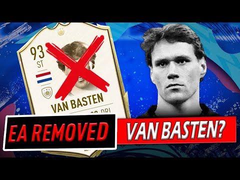 Marco Van Basten Removed from FIFA 20?