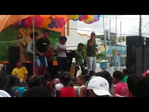Swing da pegada  da cidade ponto novo:BA dias das crianças  obri Raimundo e Lene pelo apoio