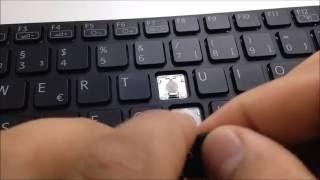 Video Notebook Tastatur Reparieren Einzelne Taste Einbau Montieren Sony Vaio SVE-1511 MP3, 3GP, MP4, WEBM, AVI, FLV Juli 2018
