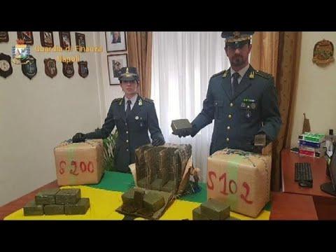 Ιταλία: Οκτώ τόνοι κάνναβης, 80 εκατομμυρίων ευρώ