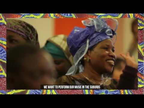 Amadou & Mariam - PROJET AFRICA MON AFRIQUE - Présentation au Centre Curial