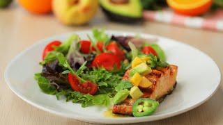 Maple Mustard Salmon •Tasty by Tasty