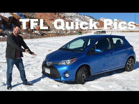 TFL Quick Pics Review: 2015 Toyota Yaris SE Up Close & Personal