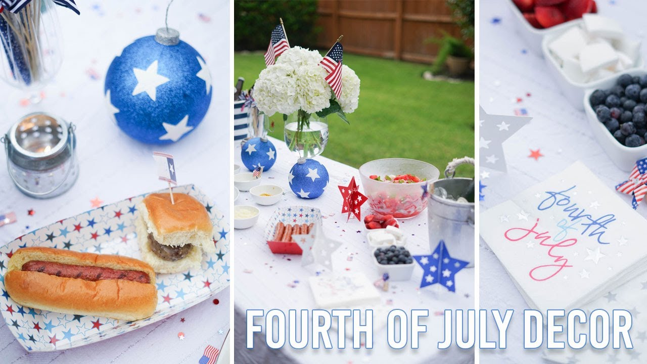 4th of July Decor | Outdoor Entertaining