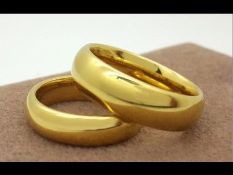 Saudi Gold Wedding Ring Design