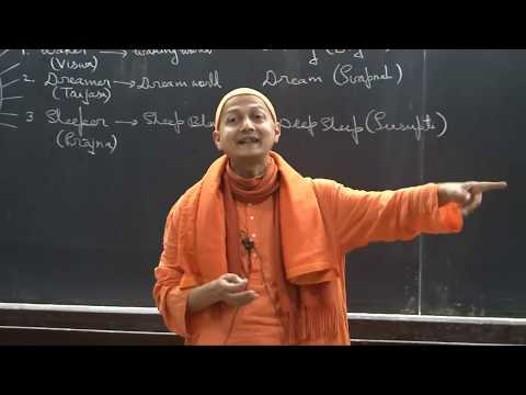 Swami Sarvapriyananda at IITK - 'Who Am I?' according to Mandukya Upanishad-Part 2
