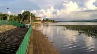 タイの自然景観パヤオ湖