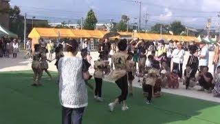 第21回羽黒夏祭り22演舞と催事と尾張太鼓