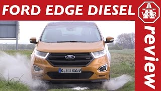 2016 Ford Edge 2.0 TDCi Diesel (EU Version) In-Depth Review, FULL Test, Test Drive by Video Car Review