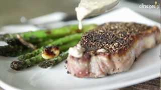 Przepis na stek z pieprzem