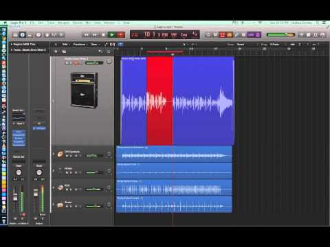 Logic Pro X – Video Tutorial 04 – Autopunch, Quick Swipe Comping, Low Latency Mode, Control Bar