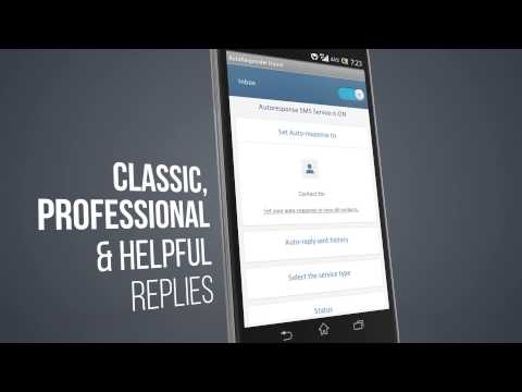 Video of Auto-Response SMS Free