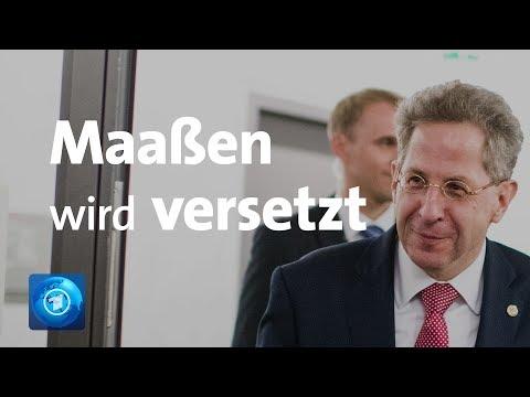 Maaßen muss gehen - Versetzung ins Innenministerium