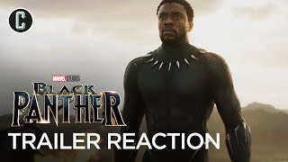 Black Panther Trailer Reaction & Review by Collider