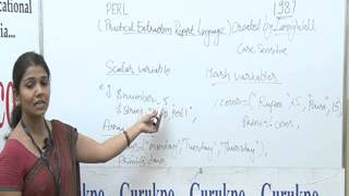 PERL Programming Basics Lecture By Ms. Rashmi Sharma.