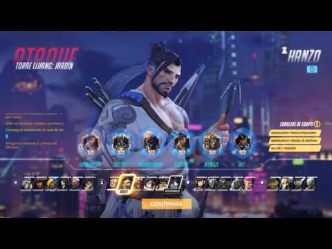 Overwatch (Open beta) Gameplay - Hanzo, Winston y Reinhardt
