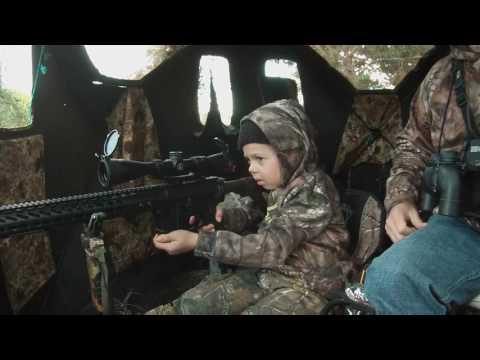 7 летняя девочка из Техаса добыла своего первого оленя