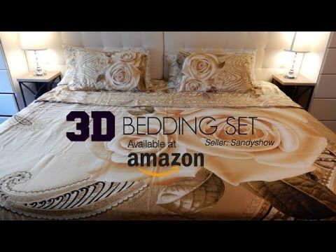 3D Bedding Set | Amazon.com (SandyShow)