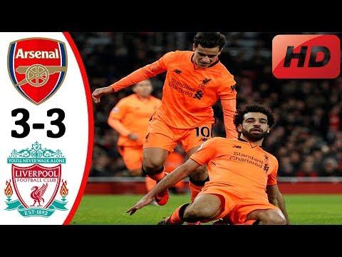 MUST WATCH!! 🔥 Arsenal vs Liverpool 3-3 🔥 All Goals & Highlights