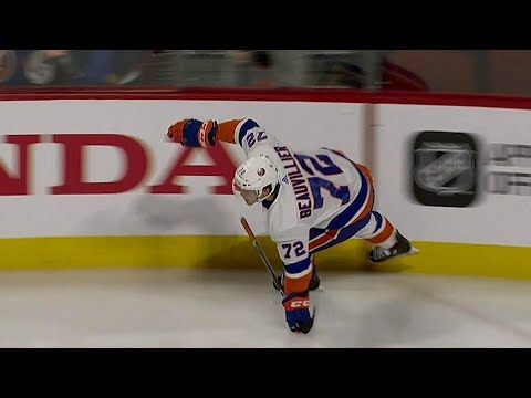 Video: Beauvillier beats Price on Islanders' first shot of the game