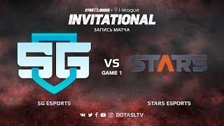 SG e-sports против Stars, Первая карта, SL i-League Invitational S4 Южноамериканская Квалификация