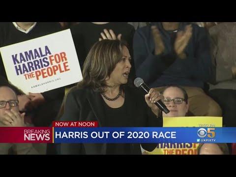 Sen. Kamala Harris Drops Out Of Presidential Race