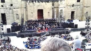 Orange France  city photos gallery : Hans Zimmer Live - Gladiator -- Théâtre Antique d'Orange, France, 05/06/2016