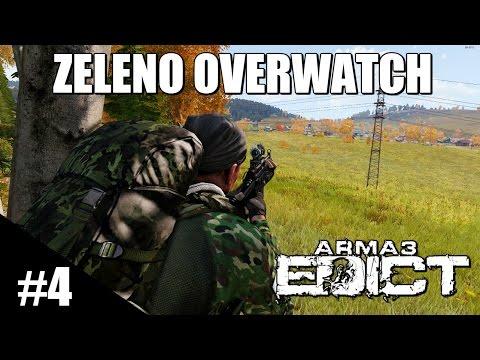 Arma 3 Edict Survival Mod | Zeleno Overwatch | Edict Highlight #4 (видео)