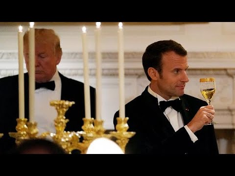 White House state dinner for Emmanuel Macron