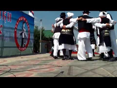 Narodne igre sa Banije u izvođenju KUD Zavičaj - Banija iz Šapca.