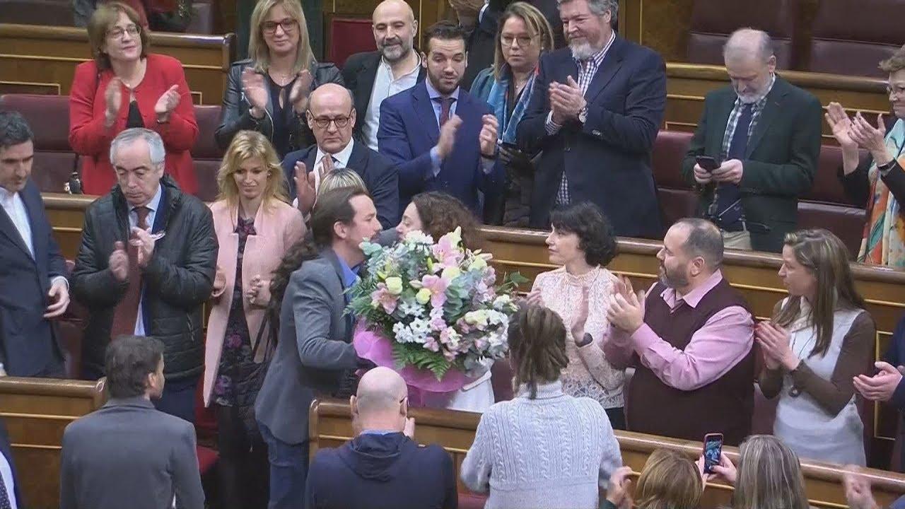 Τα δάκρυα του Ιγκλέσιας στα πρώτα λεπτά της νέας ισπανικής κυβέρνησης
