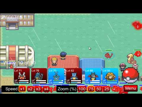 (PTD) Pokemon Tower Defence part 63 - Cinnabar Gym