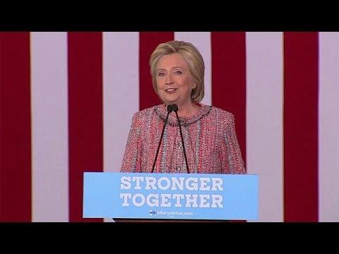 ΗΠΑ: Η Χίλαρι Κλίντον επανήλθε στην προεκλογική της καμπάνια